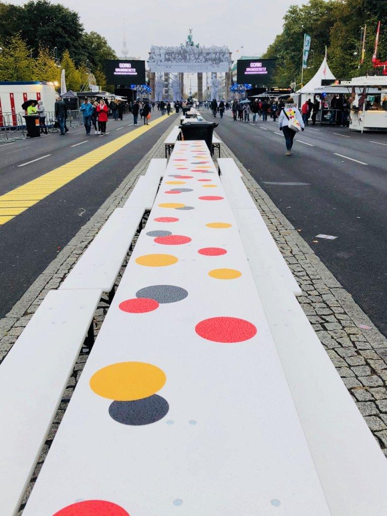 Tag der Deutschen Einheit in Berlin, Foto by Doreen Trittel