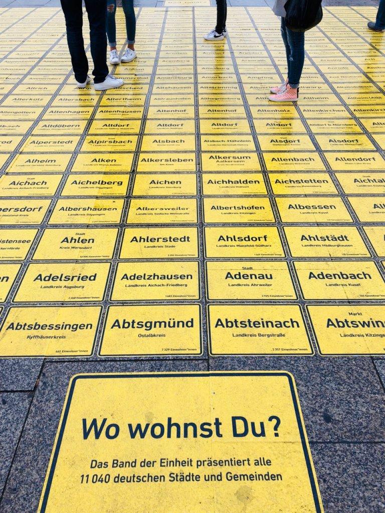 Band der Einheit, Tag der Deutschen Einheit Berlin, https://www.kulturprojekte.berlin/projekt/tag-der-deutschen-einheit-berlin-2018/