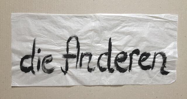 Wir sind die Anderen…