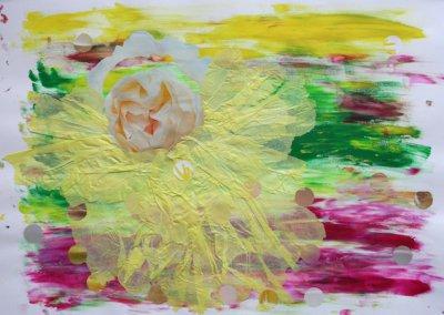 Reise ins Innere Collage, Nr. 3 von 7, 59x42 cm, 2017 (c) Doreen Trittel