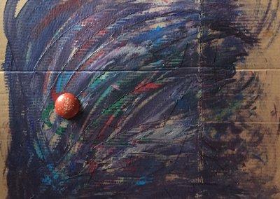 o.T., Collage, 78x72x11 cm, Seite 2, 2017 (c) Doreen Trittel
