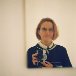 Selbstporträt, analog, Ende 90er, (c) Doreen Trittel