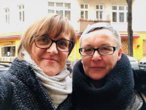 Sabine Küster (re) und Doreen Trittel (li)