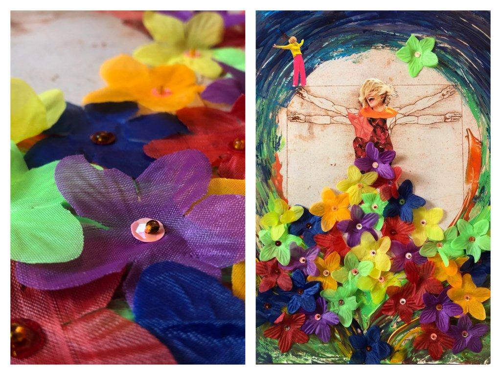 Ja, Assemblage/ Collage, 2018, (c) Doreen Trittel