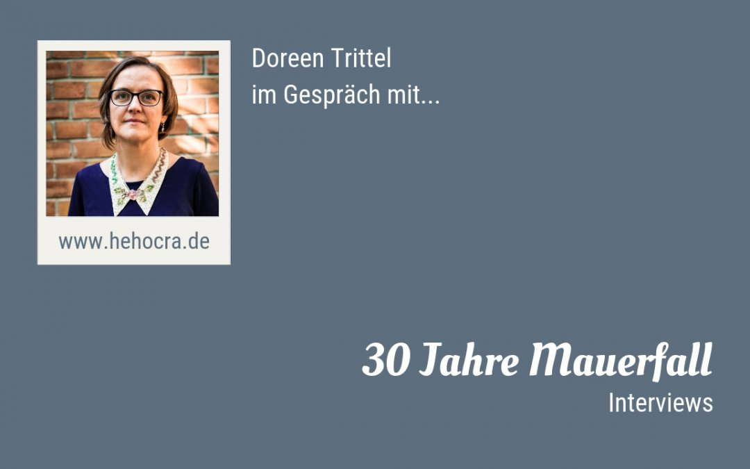 Los geht's: 30 Jahre Mauerfall – Interviews