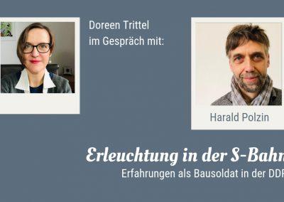 Doreen Trittel im Gespräch mit Harald Polzin