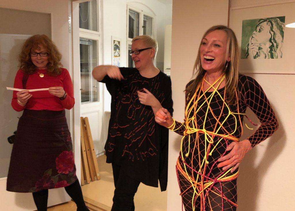 Susanne Haun, Sabine Küster und Krystiane Vajda, 2019, (c) Doreen Trittel