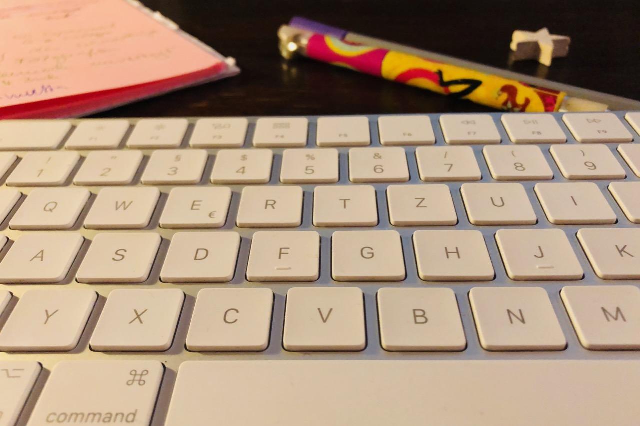 Tastatur, Bloggen, Schreiben