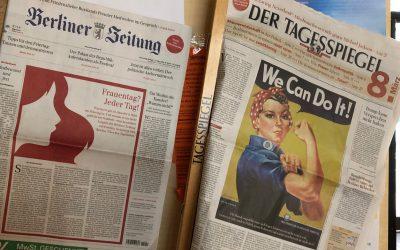 8. März – Es tut sich was… Ein neuer Feiertag in Berlin.