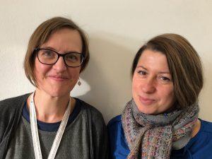 Stefanie Sändig (re) und Doreen Trittel (li), (c) Doreen Trittel