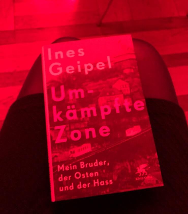 Umkämpfte Zone. Mein Bruder, der Osten und der Hass - Ein Buch von Ines Geipel, 2019
