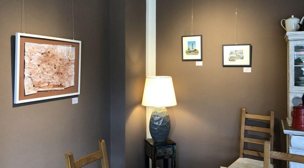 Bilder von Doreen Trittel im Café Mahlsdorf