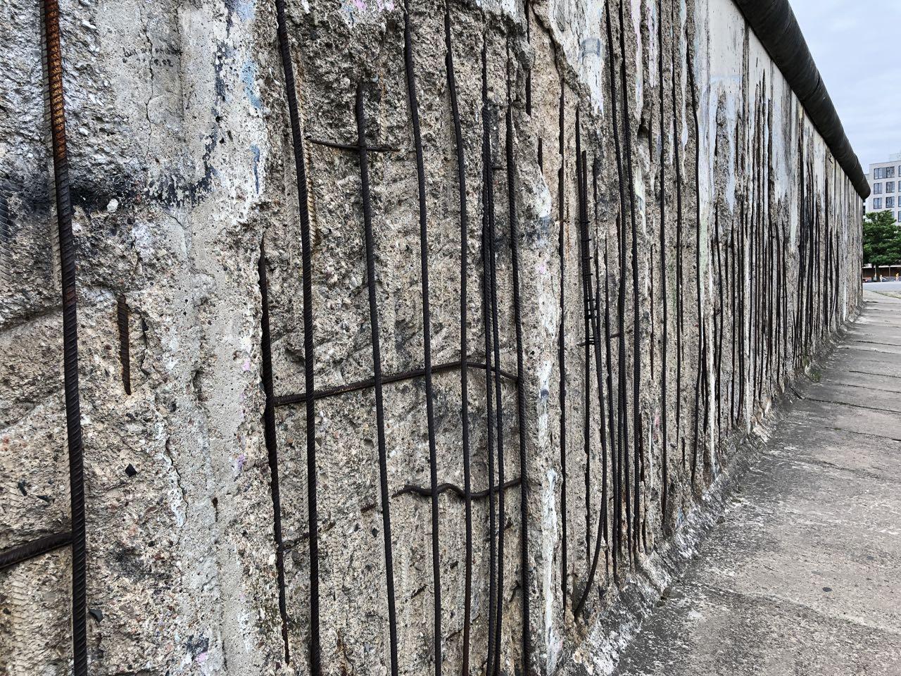 Berliner Mauer, Gedenkstätte Bernauer Straße, 2019, by Doreen Trittel