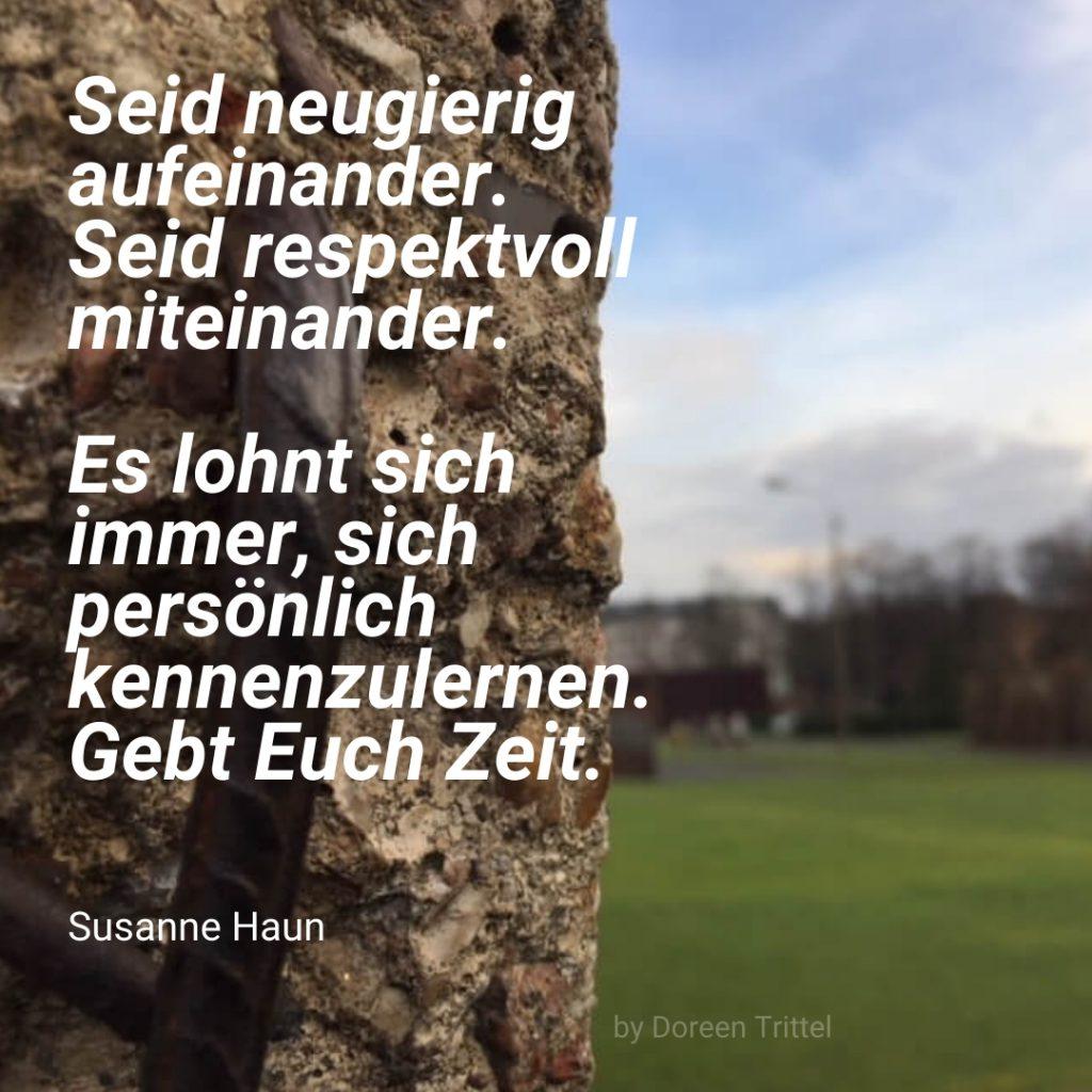 Zitat von Susanne Haun - 30 Jahre Deutsche Einheit