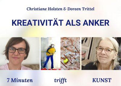 7 Minuten trifft KUNST, von und mit Christiane Holsten & Doreen Trittel
