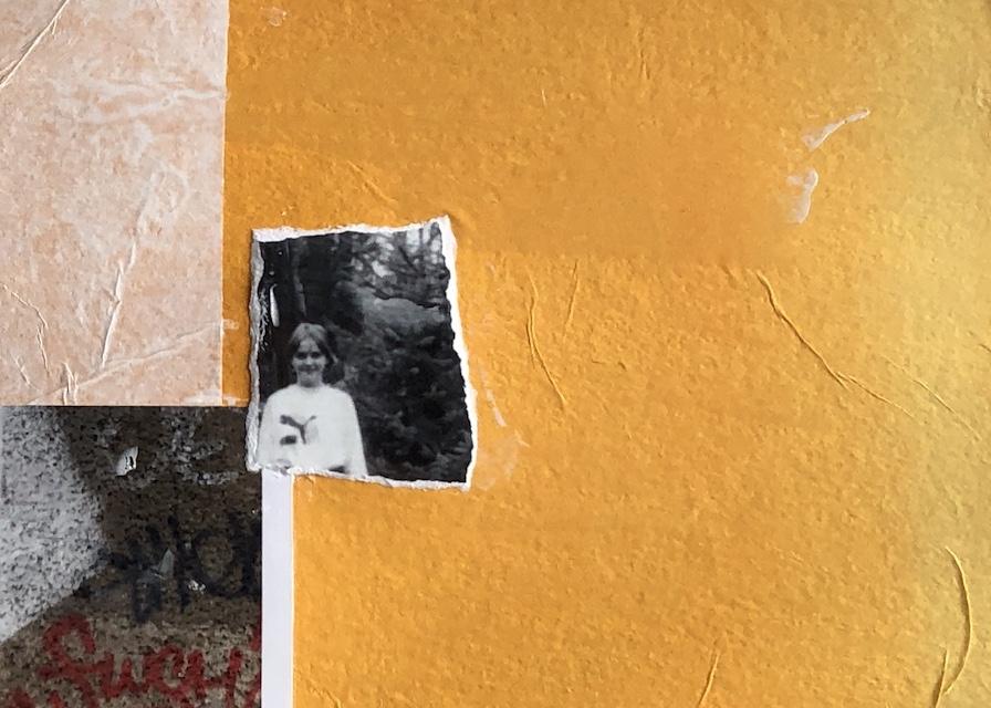 Erinnerungen sortieren, Detail, Collage, 2019, (c) Doreen Trittel