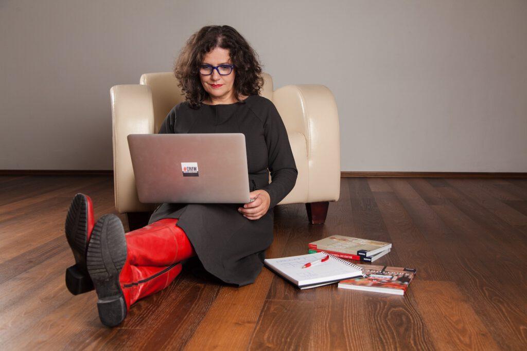 Smartphonefotografie und Unternehmensfotografie mit Simone Naumann, Foto by Melanie Eichenauer