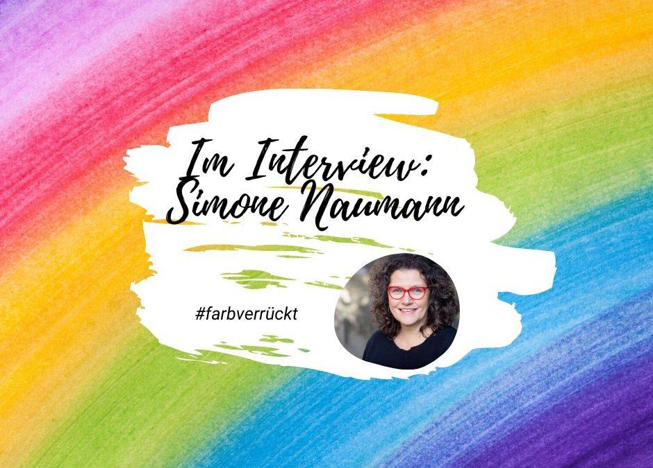#farbverrückt - Simone Naumann im Interview