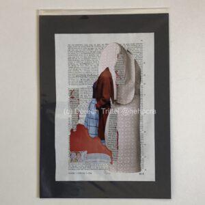 o.T., Collage auf einer BGB-Kommentar-Seite, (c) Doreen Trittel