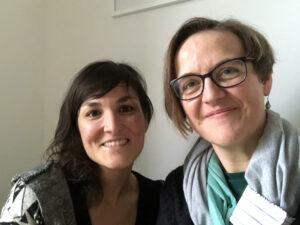 Danke Mina Esfandiari (li.), Foto by Doreen Trittel (re.)