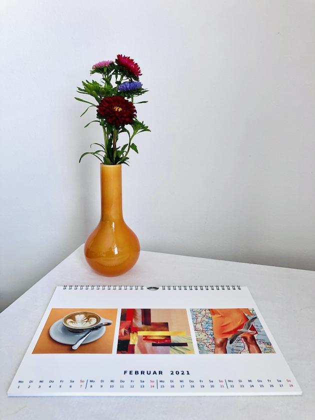 #farbverrückt - Dein Kalender für 2021, (c) Doreen Trittel / VG Bild Kunst