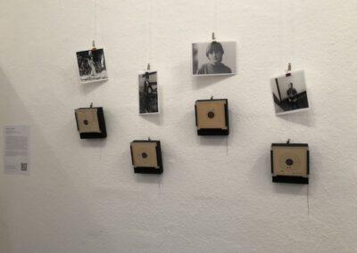 Schießen für den Frieden Installation/ Objekte, Teil 1, 2017 Doreen Trittel