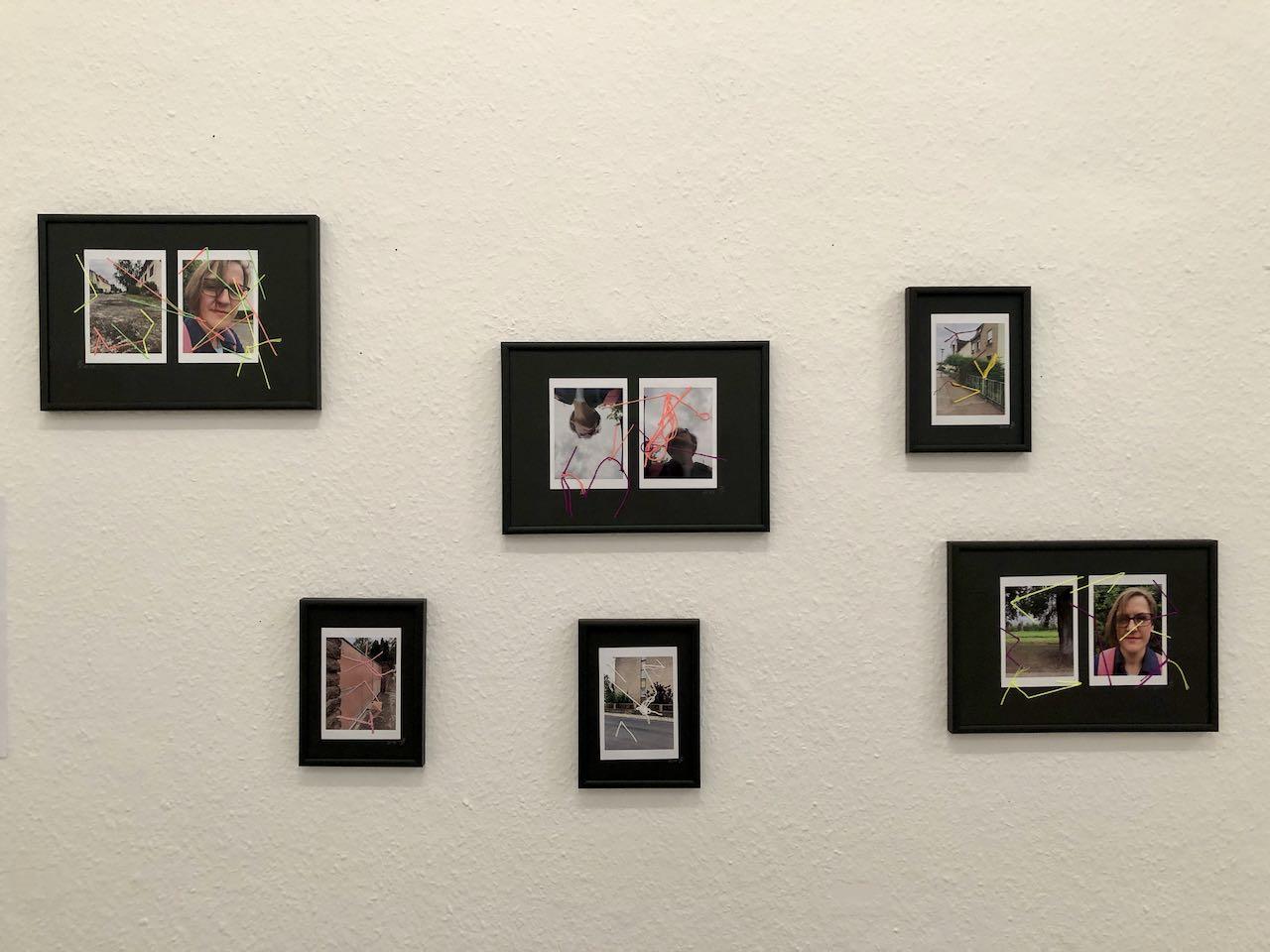 Ja zum Leben 1, Collage, Materialmix, 2018, (c) Doreen Trittel