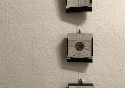 Schießen für den Frieden Objekte, Teil 2, 2017 ff. Doreen Trittel