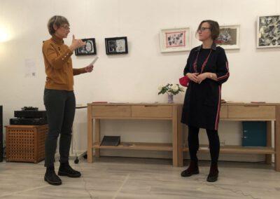 Immer Bereit!? - Ausstellung, 2020, Nadja Bungard von Paula Panke und Doreen Trittel im Gespräch