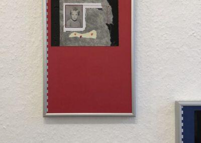 Immer bereit!?, Serie, Collagen, Materialmix, 2020, (c) Doreen Trittel