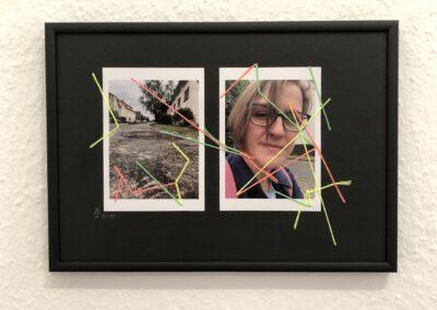Reise an den Ursprung Collage, Materialmix Serie, 2019/ 2020, (c) Doreen Trittel