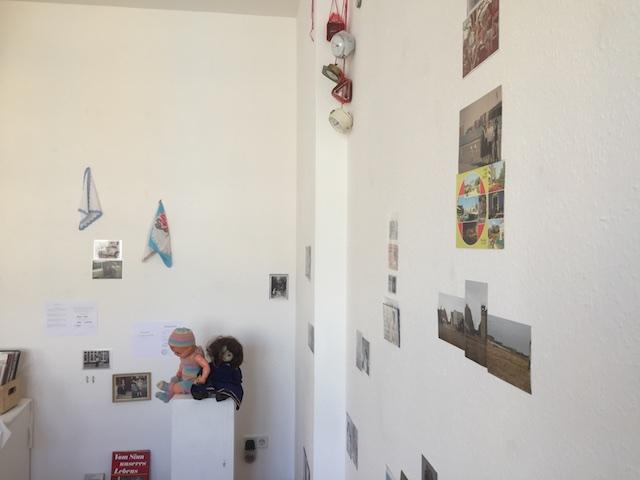 unvergleichlich GEMEINSAM, Installation, Ausschnitt, von Susanne Haun und Doreen Trittel (c)