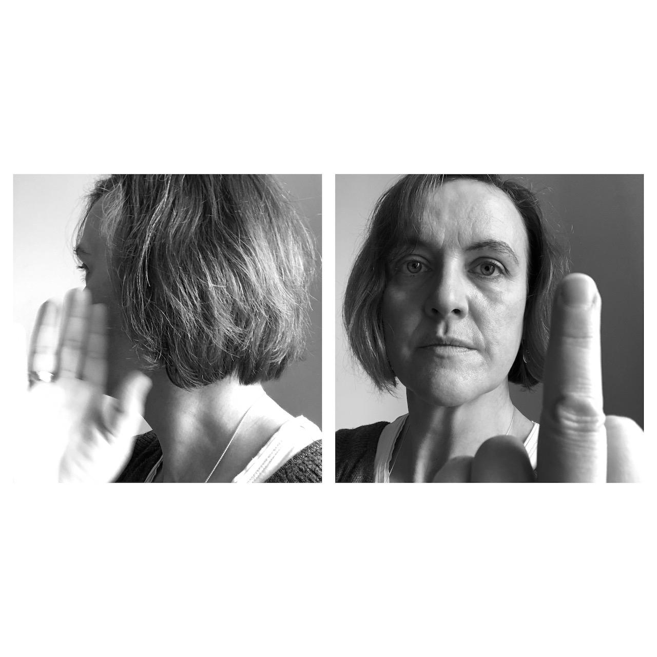 #ArschlochICH, (c) Doreen Trittel, 2020, Selbstporträts