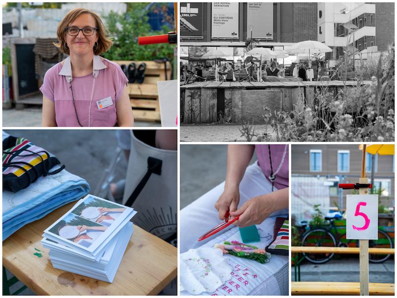 Art Speed Dating, eine Aktion des Frauenmuseums beim Kunstfestival 48 Stunden Neukölln, 2021, Fotos (c) Lars Walter